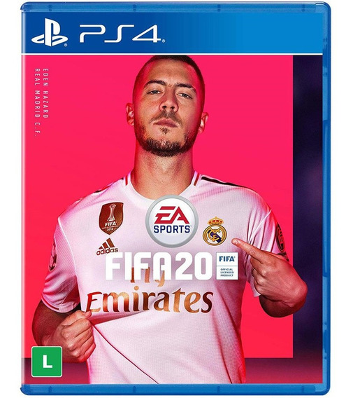 Jogo Fifa 20 Playstation Ps4 Midia Fisica Original Dublado