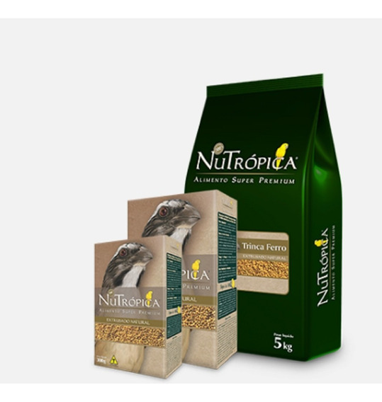 Ração Super Premium Nutrópica Natural Para Trinca- Ferro 5kg