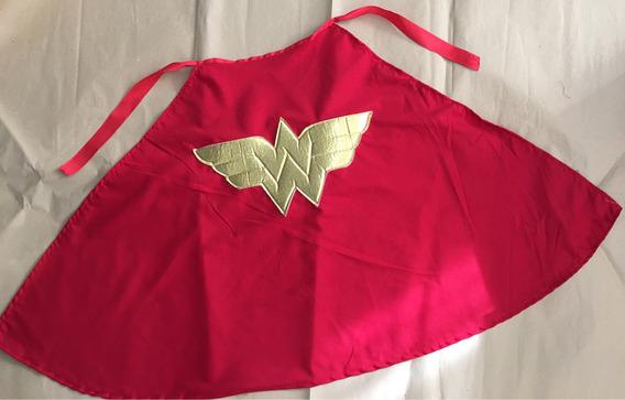 Capa Mujer Maravilla Wonderwoman Dcsuperhero Batgirl Batman