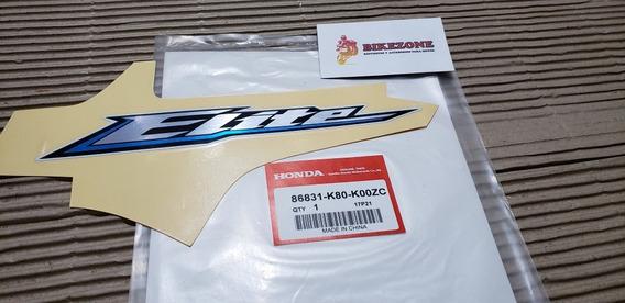 Calco Original Honda Elite 125 New Elite 125 Moto Blanca