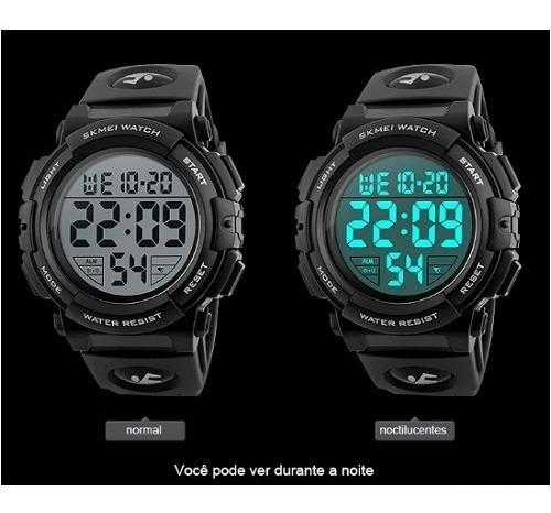 Relógio Skmei A Prova Masculino Esportivo Modelo 1258