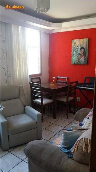 Apartamento Com 2 Dormitórios À Venda, 55 M² Por R$ 200.000 - Jardim Tranqüilidade - Guarulhos/sp - Ap0427