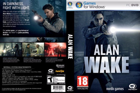 Alan Wake + 1 Jogo Pc (midia Física)