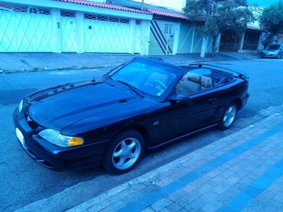 Ford Mustang V8 Gt Conversível Automático Completo Ac. Troca