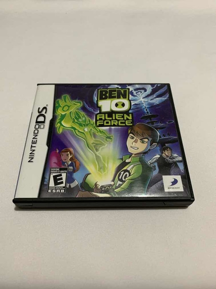 Ben 10 Alien Force Nintendo Ds Dsi 2ds 3ds Jogo Original