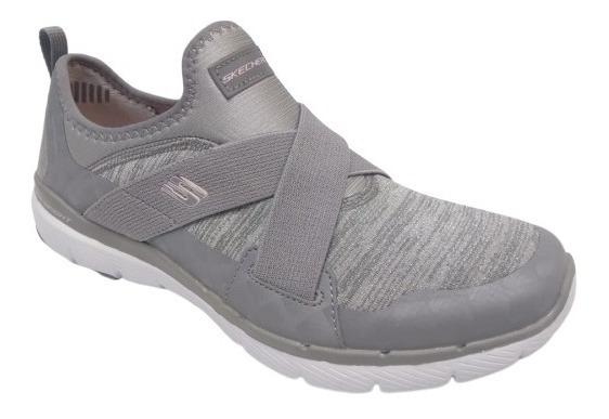 Zapatillas Skechers Mujer Finest Hour - 13065 Gris