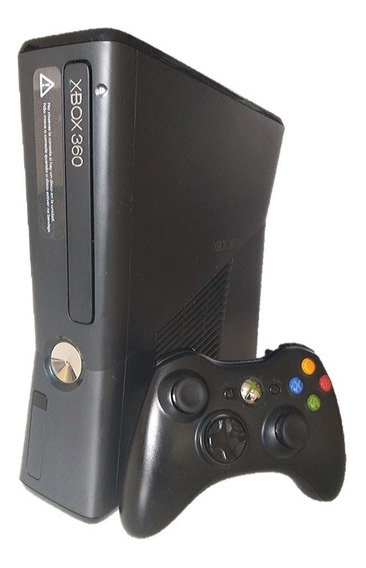 Xbox 360 Slim Ou Super Slim 4gb Seminovo Frete Grátis S/jrs
