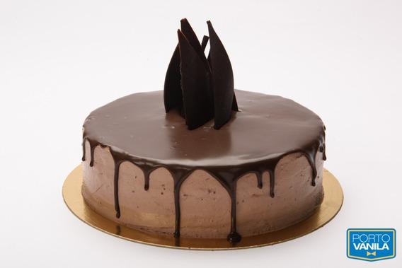 Torta Gateau Chocolate Porto Vanila De 10 A 12 Porc. (7433)