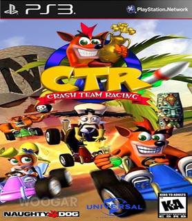 Crash Team Racing - Ps3 Digital Original