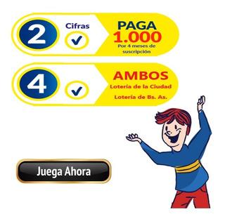 Loteria Nacional Quiniela Provincia 4 Ambos