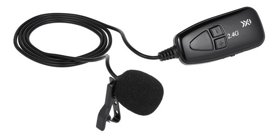 Microfone Sem Fio Xxd-g18l 2.4g Hands Free Clip-on Lapel