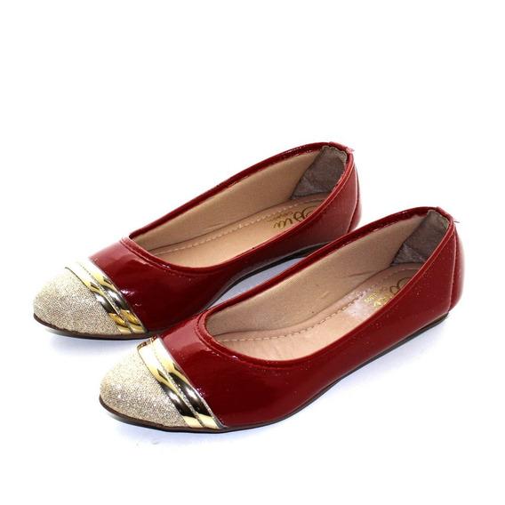 Sapatilha Laysa - Ref 510 Vermelha - 51006