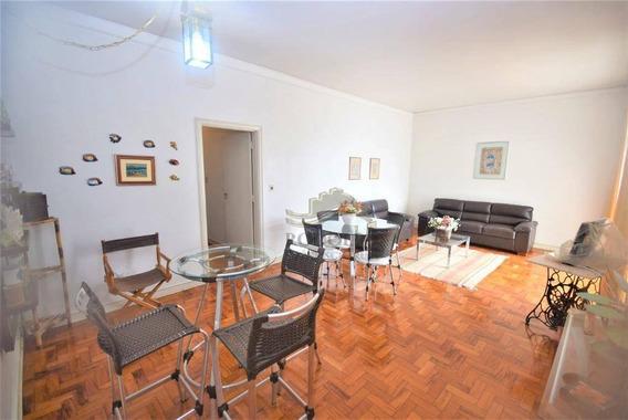 Guarujá Pitangueiras, 3 Dormitórios, Quadra Da Praia, Vista Mar, 1 Vaga No Prédio, Ótima Localização. - Ap0952