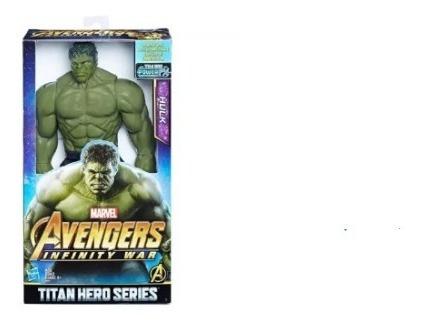 Imagem 1 de 2 de Avengers Figura 12 Titan Hero Hulk - E0571 - Hasbro