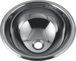 Bacha Baño Vanitory Ac Inox 25cm Espejo Mr25 Premium No O250