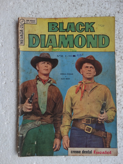 Nevada Nº 25! 2ª Série! Black Diamond! Ebal Jul 1966