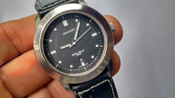Relógio Orient Preto Semi Novo Perfeito