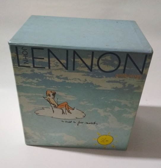 John Lennon Anthology - Box - 4 Cds + 1 Libro