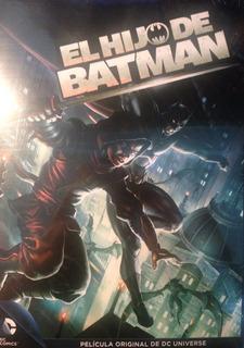 Cd Dvd El Hijo De Batman Dc Comics Universe Wb 2014 Robin