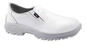 Sapato Segurança Couro Epi C.a Açougue, Cozinha, Padaria