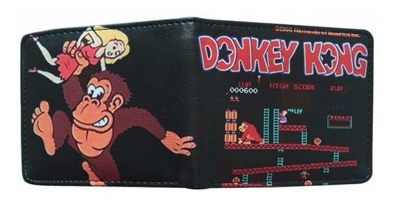 Billetera Cartera Donkey Kong Mario Bros Nintendo