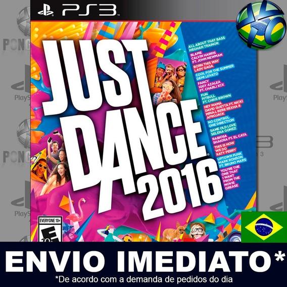 Just Dance 2016 Ps3 Digital Psn Legendado Português Pt Br Jogo Em Promoção