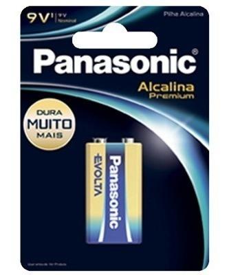 30 Cartelas De Bateria 9v Panasonic Alcalina Premium