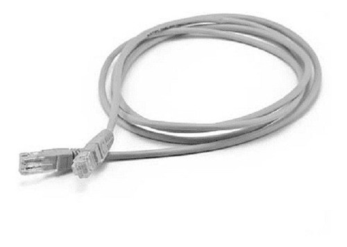 Puntotecno - Cable De Red 2 Mts Gris Categoria 5e
