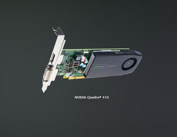 Placa De Vídeo Nvidia Quadro Modelo 410