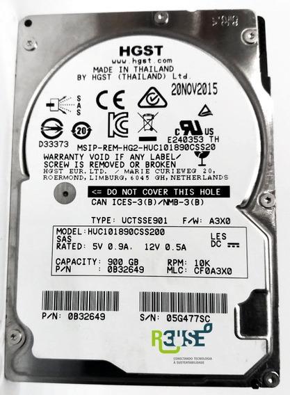 Hard Disk Hd Hgst Huc101890css200 900gb Sas 2,5 10k 12gb