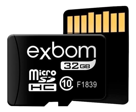 Cartão De Memória 32gb Micro Sd Original C Nota Fiscal