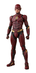 Justice League Flash Sh Figuarts Action Figure P-bandai Ex.