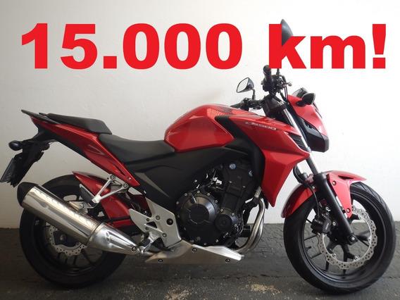 Honda Cb 500 F - Só 15.000 Km !!