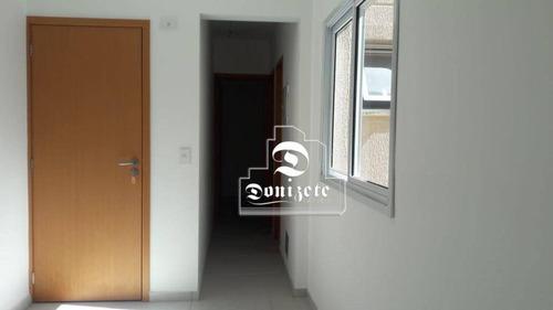 Cobertura À Venda, 80 M² Por R$ 250.000,00 - Vila Pires - Santo André/sp - Co10978