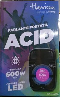 Parlante Kanji Acid Para Estas Fiestas