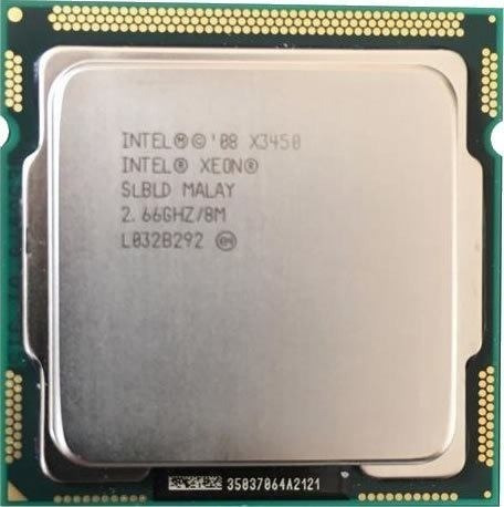 Processador Intel Xeon X3450 2.66ghz Lga 1156 8 Mb