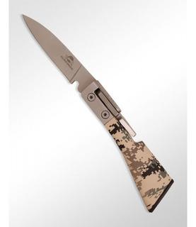 Canivete Army Tatico Inox Manual Com Bainha - Guepardo