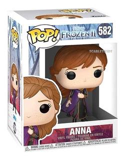 Funko Pop Anna 582 Frozen 2 Original Disney Scarlet Kids