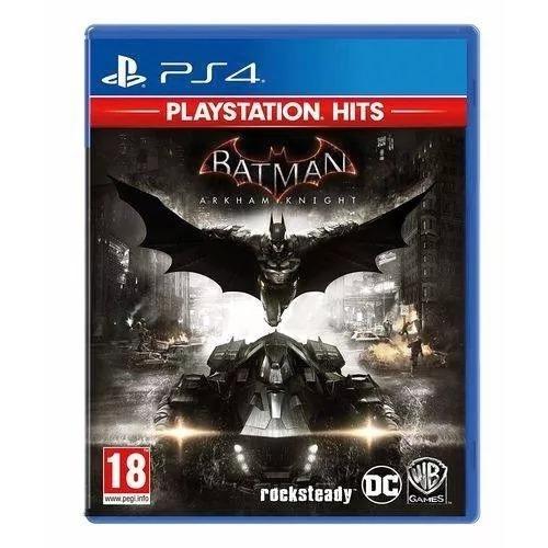 Batman Arkham Knight Ps4 Lacrado- Envio Imediato Com Nf