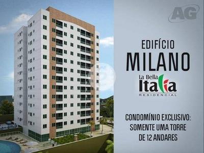 Edificio Milano, 75m2, Mobiliado, Parque 10 - Ap0371