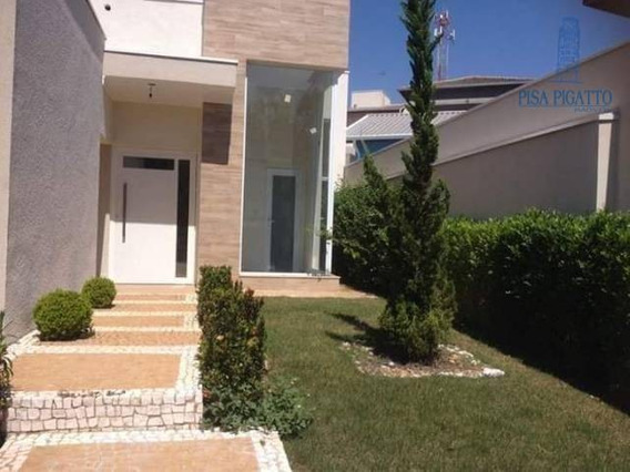 Casa Com 3 Dormitórios À Venda, 179 M² Por R$ 660.000,00 - Condomínio Aurora - Paulínia/sp - Ca2234