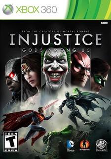 Injustice Goods Among Us Xbox 360
