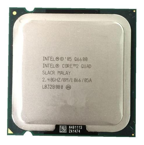 Processador Core 2 Quad Q6600 2.40ghz 8mb 1066 Lga 775 ¨