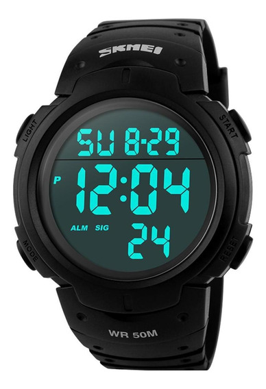 Relógio Masculino Skmei 1068 Esportivo Militar Prova D