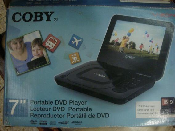 Dvd Portátil Coby 7 Pulgadas Casi Nuevo.