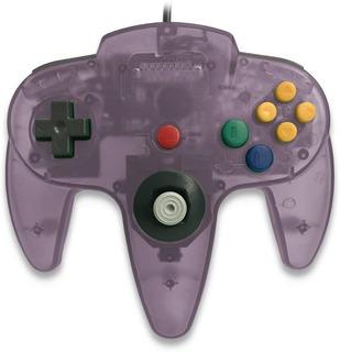 Control Nintendo 64 N64 Nuevo Morado Transparte Teknogame