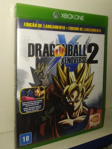 Dragon Ball Xenoverse 2 Mídia Física Xbox One Original