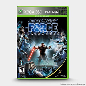 Star Wars The Force Unleashed - Original Xbox 360 - Novo