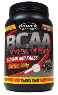 Bcaa 100% Pure 200g - Power Supplements