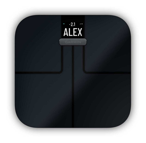 Balança Inteligente Garmin Index S2 Wifi Bluetooth Ant Preta